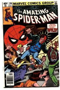 AMAZING SPIDER-MAN #206 comic book-1980-MARVEL