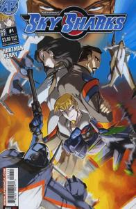 Sky Sharks #1 VF/NM; Antarctic | save on shipping - details inside
