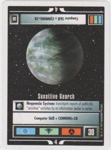 1995 Star Trek Trading Game Card Sensitive Search
