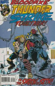 Thunderstrike #18 FN; Marvel | save on shipping - details inside