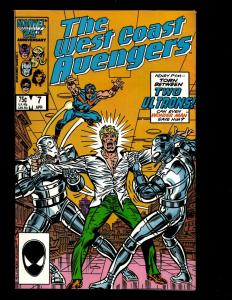 Lot Of 11 West Coast Avengers Marvel Comics # 7 9 42 44 45 47 48 49 54 55(2) JF3