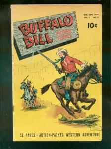 BUFFALO BILL PICTURE STORIES #2 1949-STREET & SMITH PUB VG/FN