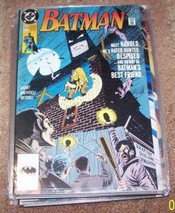 BATMAN #458 MEET HAROLD  +DC 1991  JAMES GORDON GOTHAM TV SHOW
