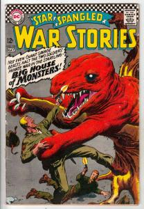 Star Spangled War Stories #132 (May-67) FN- Mid-Grade Dinosaur