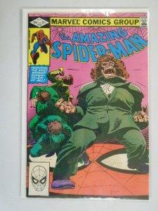Amazing Spider-Man #232 Direct edition 4.0 VG water damage (1982 1st Series)