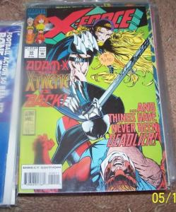 X FORCE  # 30 MARVEL  ADAM X THE EXTREME CABLE
