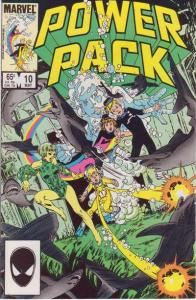 Power Pack (1984 series) #10, VF+ (Stock photo)
