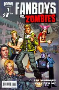 Fanboys Vs. Zombies #1A VF/NM; Boom! | save on shipping - details inside