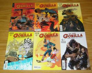 Six-Gun Gorilla #1-6 VF/NM complete series - simon spurrier - 2nd print - boom