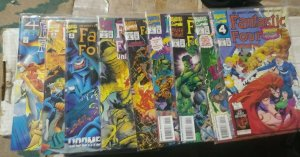 FANTASTIC FOUR  UNLIMITED # 2 3 4 5 6 7 8 9 10 marvel 1994  reed sue ben johnny