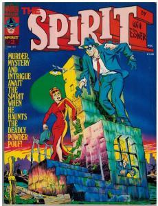 SPIRIT (WARREN/KITCHEN SINK) 2 VG-F June 1974 COMICS BOOK