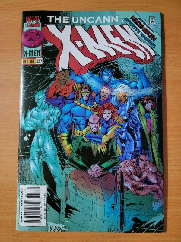 Uncanny X-Men #337 Direct Market Edition ~ NEAR MINT NM ~ (1996, Marvel Comics)