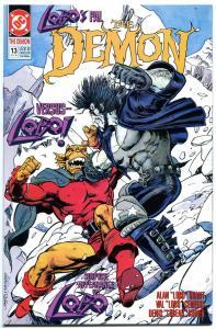 DEMON #13, NM+, Alan Grant, 1990, Apocalypse, Monsters, Lobo, more in store