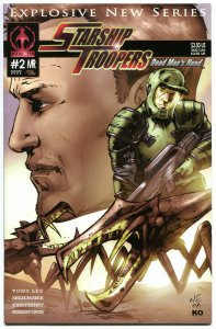 STARSHIP TROOPERS #2 A, NM, Markosia, Bugs, Sci-fi, 2006, more Horror in store