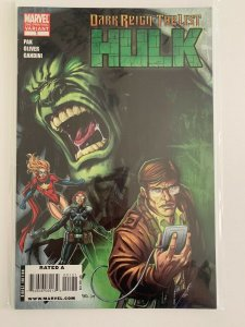 Dark Reign The List Hulk #1 2nd Print Variant  Marvel Comics VF