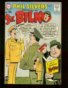 SGT BILKO #8 PHIL SILVERS CBS-TV SERIES   ARMY CON MAN FN/VF
