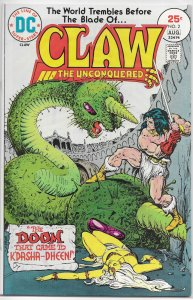 Claw the Unconquered (vol. 1, 1975) #2 VF Michelinie/Chan
