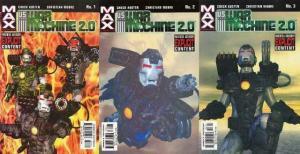 US WAR MACHINE 2.0 (2003) 1-3  complete series!