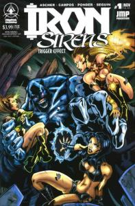 Iron Sirens: Trigger Effect #1 VF/NM; Digital Webbing | save on shipping - detai
