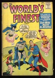 World's Finest Comics #113 VG 4.0