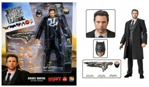 Medicom MAFEX Justice League Batman Bruce Wayne Action Figure #076 - New!