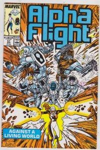 Alpha Flight #57 (1988)
