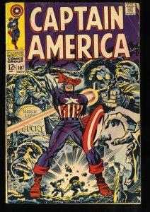 Captain America #107 VG 4.0