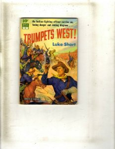 3 Pocket Books Trumpets West! Valley of Vanishing Herds The Whoop-Up Trail JL22