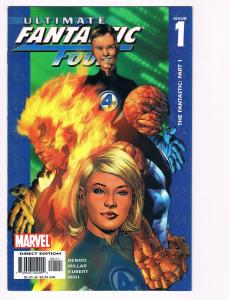 Ultimate Fantastic Four # 1 Marvel Comic Books The Thing Human Torch!!!!!!!! S50