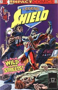 Legend of the Shield, The #3 VF/NM; Impact | save on shipping - details inside
