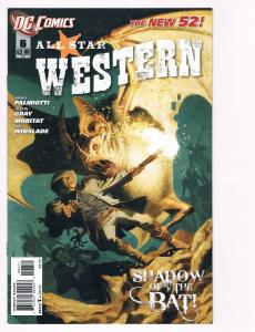 All Star Western # 6 DC Comic Books Hi-Res Scans The New 52 Awesome Issue!! S19