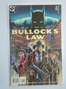 Batman Bullock's Law #1 8.0/VF (1999)