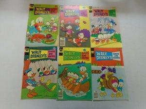 Bronze age Disney Ducks comic lot 12 different issues avg 5.0 VG FN (Whitman)