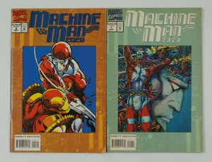 Machine Man 2020 #1-2 FN/VF complete series - barry windsor-smith - iron man set