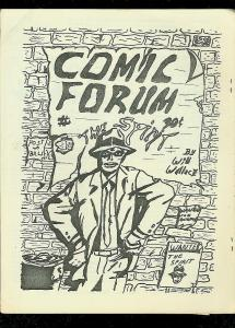 COMIC FORUM FANZINE #7 1969-EARL BLAIR-HOUSTON CON-RARE FN