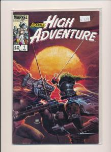 Marvel LOT OF 3- AMAZING HIGH ADVENTURE #1, #2, #5  VF/NM (PF251)