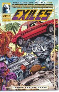 Exiles (1993 series) #3, NM- (Stock photo)