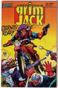 Grimjack   # 5 VG (First Comics) Ostrander/Truman