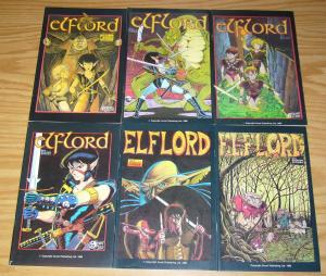 Elflord #1-6 VF/NM complete series - aircel comics - barry blair set lot 2 3 4 5