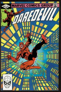 Daredevil #186 Frank Miller/Klaus Janson (Sep 1982, Marvel)  8.5 VF+
