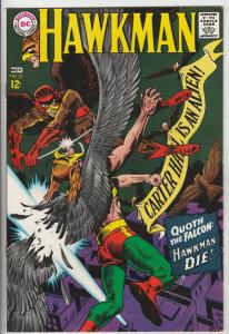 Hawkman #22 (Nov-67) NM+ Super-High-Grade Hawkman