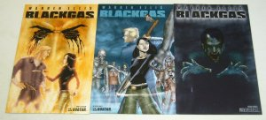 Warren Ellis' Black Gas #1-3 VF/NM complete series - regular covers - avatar 2