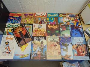 19 Indie Independent Comic Books Omaha Strangers in Paradise Post Bros Spookgirl