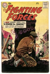 Our Fighting Forces #48 1959-DC Silver Age War comic FN