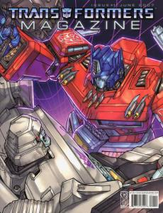 Transformers: Magazine #1 VF/NM; IDW | save on shipping - details inside