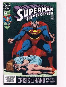 Superman The Man Of Steel #16 VF DC Comic Book Simonson JLA Oct 92 DE39 AD12