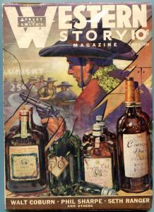 Western Story Pulp May 6 1939- Walt Coburn- Seth Ranger VG+