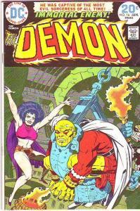 Demon, The #16 (Jan-74) FN Mid-Grade Jason Blood, Merlin