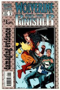 Wolverine Punisher Damaging Evidence #1 (Marvel, 1993) VF/NM