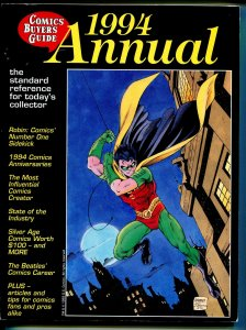 Comics Buyer's Guide Annual 1994-Robin-most influential comics creator-VG/FN